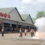 Chợ Nông Sản Thủ Đức: Thực tập chữa cháy và cứu nạn, cứu hộ