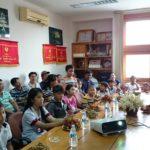 Lễ trao học bổng Nguyễn Đức Cảnh