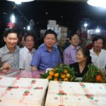 Bí thư Thành ủy TP.HCM Đinh La Thăng đến thăm và làm việc tại Chợ Đầu Mối Nông Sản Thủ Đức